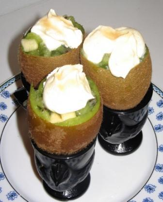 Lutins kiwi à la coque sans oeufs, sans lait, sans gluten, sans arachide