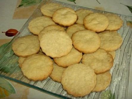 Biscuits au Muscat sans oeufs
