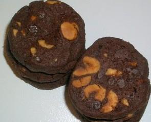 Cookies très chocolat sans œufs