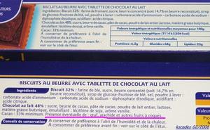 Petits beurres au chocolat