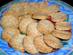Shortbreads au citron et graines de pavot sans oeufs