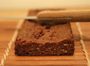 Shortbread chocolat amandes sans œufs