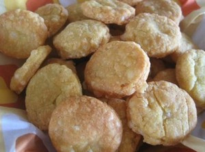 Biscuits salés curry fromage sans oeufs