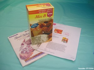 Mix Schar pour pain sans gluten