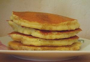Pancakes à l'ancienne sans oeufs