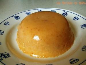 Flan à l'abricot sans œufs