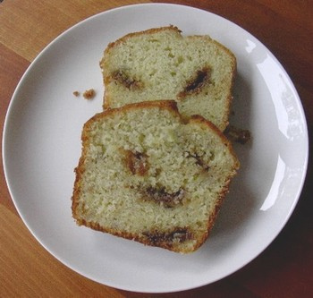 Cake aux bananes et au chocolat Daim sans gluten