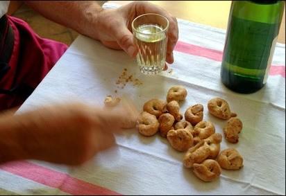Taralli al peppe sans oeufs sans lait