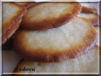Biscuits à la crème sans oeufs