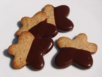 Délices d'épeautre aux châtaignes et au chocolat sans oeufs