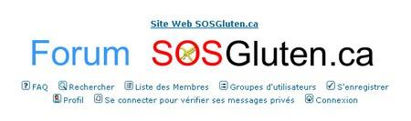 Forum SOS gluten