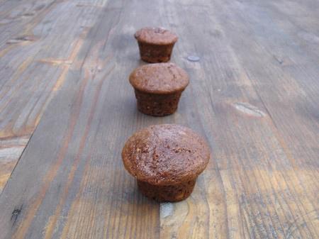 Cupcakes rhum raisin sans œufs sans lait