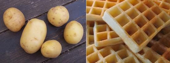 Image Papilles et Pupilles - Gaufres sans gluten