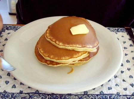 Pancakes sans oeufs sans lait