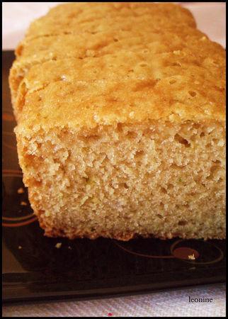 Cake au citron vert sans oeufs sans lait