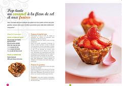 Pop-tart au caramel à la fleur de sel et aux fraises