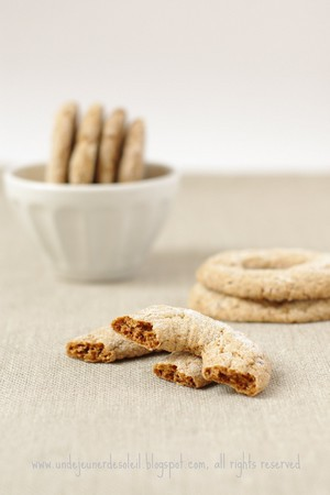 Biscuits italiens sans oeufs sans lait - Ciambelline