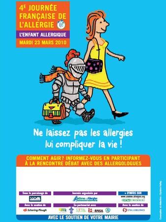 4è journée française de l'allergie