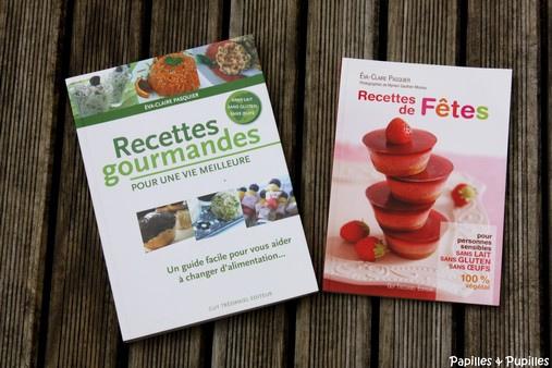 Livres de cuisine Eve Claire Pasquier