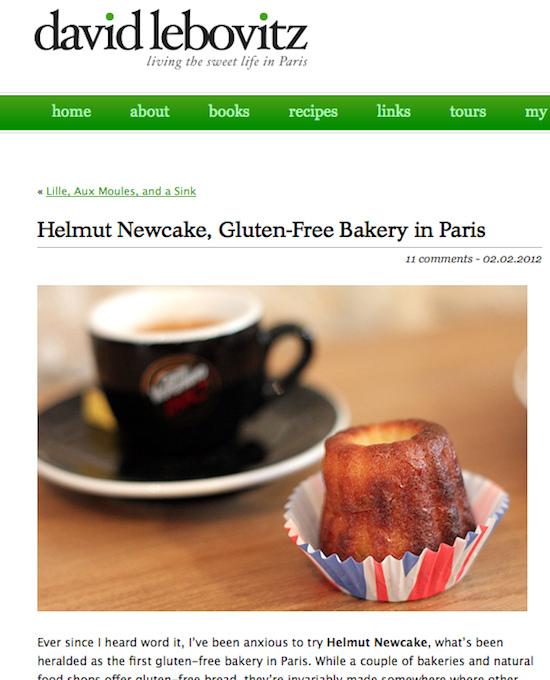 Une boulangerie sans gluten à Paris - Helmut Newcale