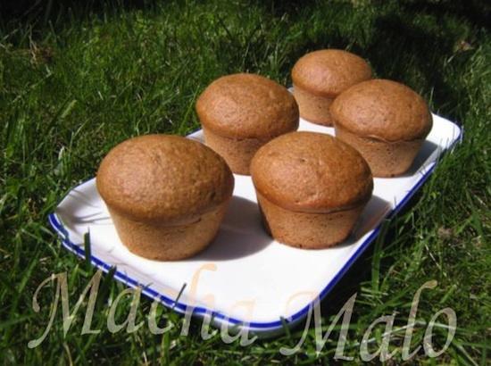 Muffins au sirop d'érable sans oeufs