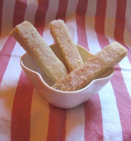 shortbreads au beurre salé