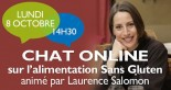 Tchat on line avec laurence Salomon