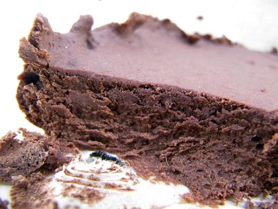 Fondant au chocolat sans lait sans gluten