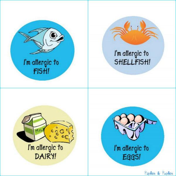 Stickers pour allergiques