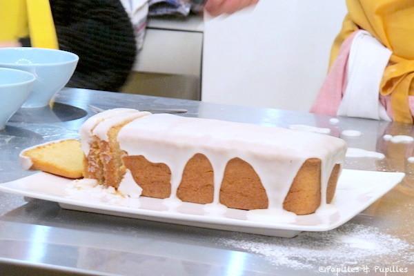 Cake au citron sans gluten - Possible sans lait