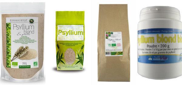 Psyllium en magasin