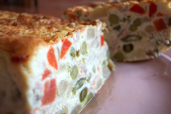 Cake thon macédoine ©Marquise des Anges