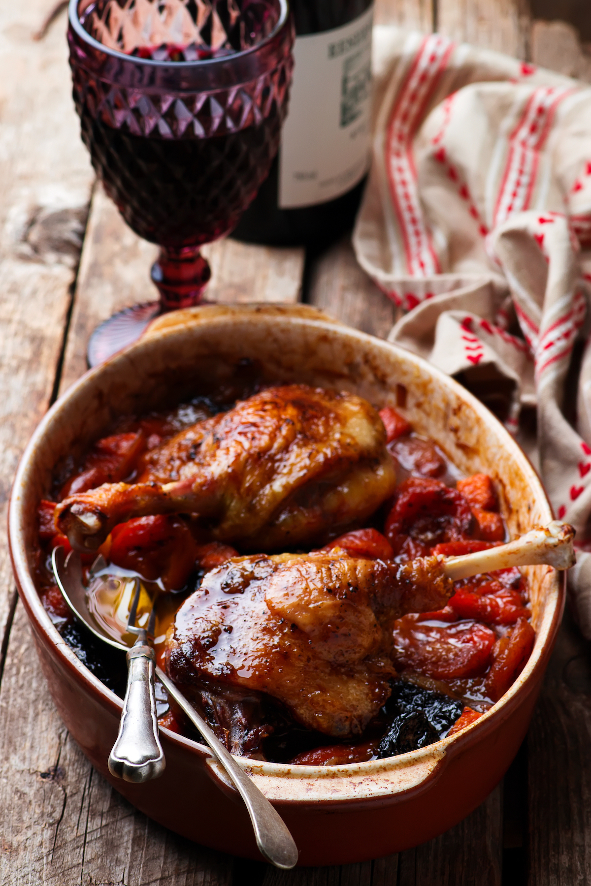Canard aux pruneaux ©De zoryanchik shutterstock