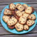 Cookies aux noix de macadamia, pépites de chocolat et sirop d'érable