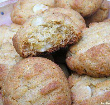 Cookies aux pépites de chocolat blanc et aux noix de Macadamia