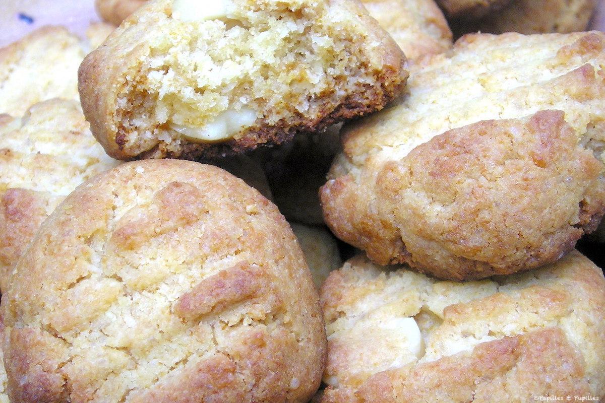 Cookies aux pépites de chocolat et noix de Mavadamia