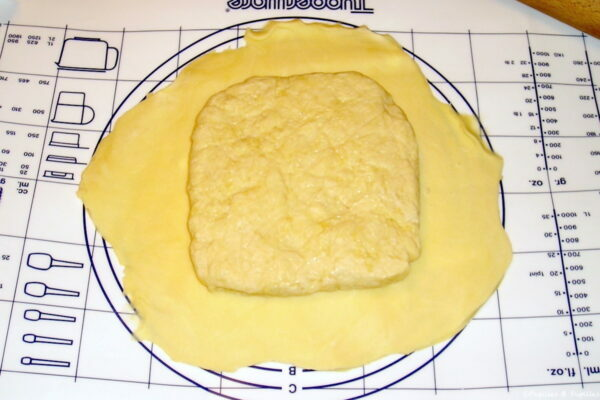 Etape 1 - Pâte feuilletée