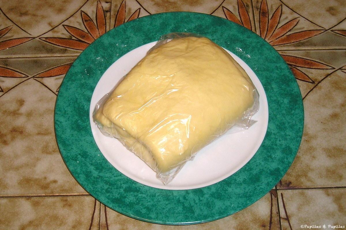 Etape 4 - Pâte feuilletée