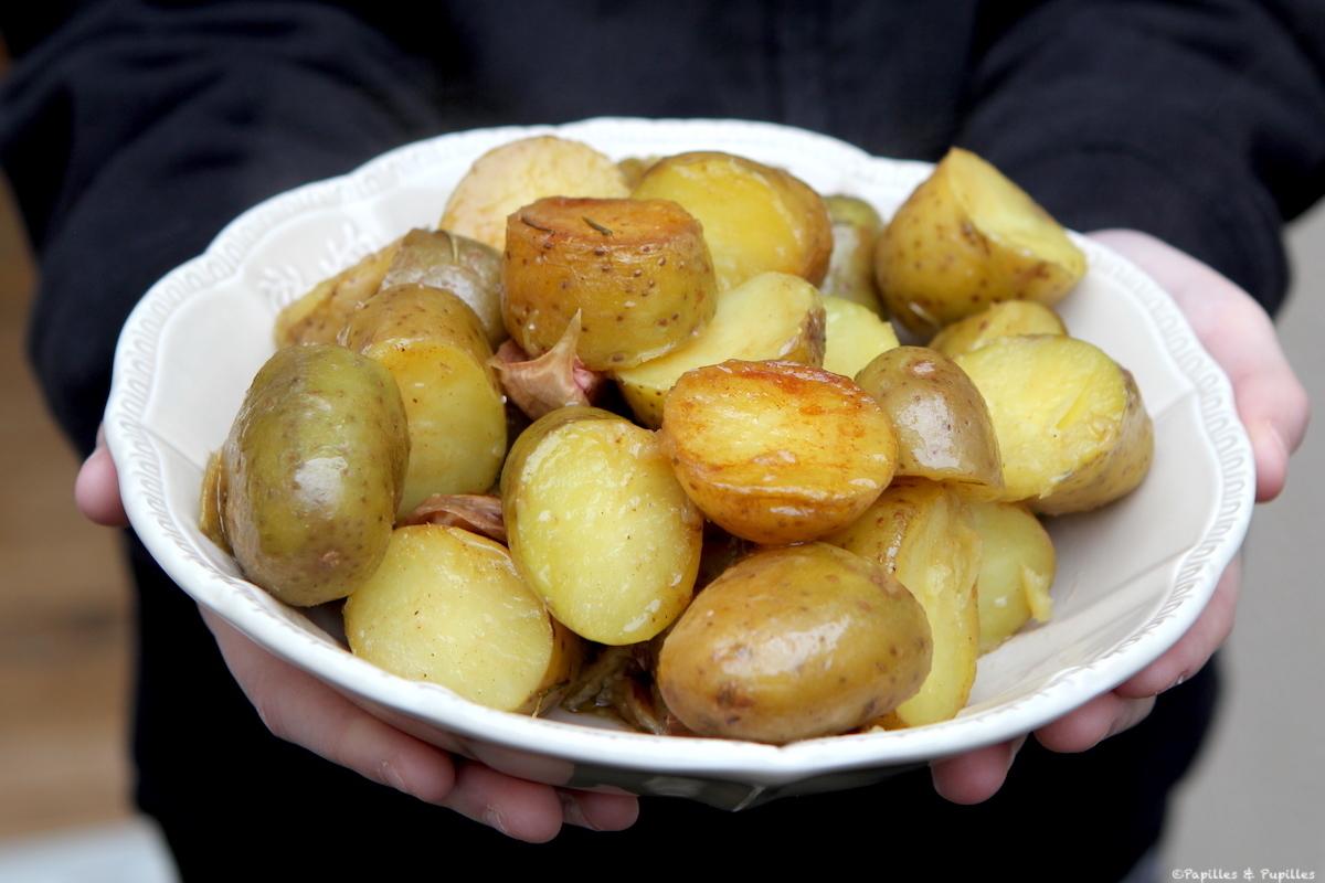 Pommes de terre nouvelles à la fleur de sel