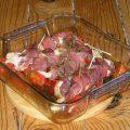 Poulet rôti aux tomates et romarin
