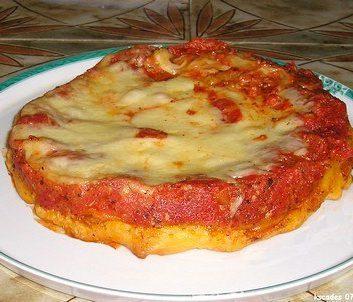 Tarte Tatin tomates Mozzarella