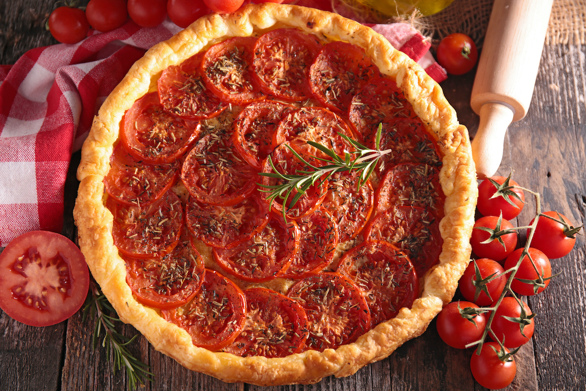 Tarte à la tomate ©Margouillat Photo - Shutterstock