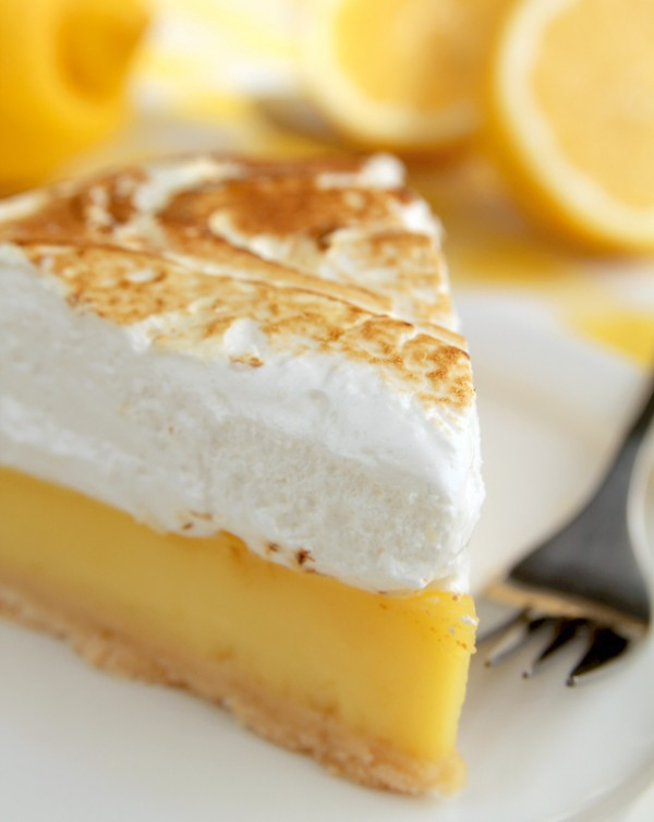 Tarte au citron et citron meringu e - Tarte au citron meringuee herve cuisine ...