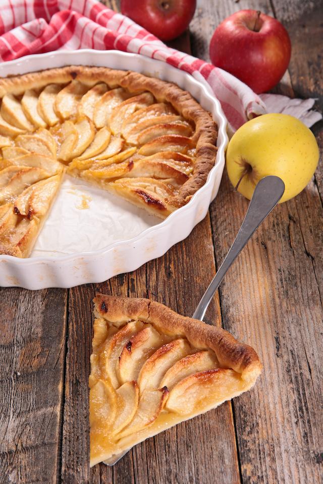 Tarte aux pommes - Comment couper des pommes pour une tarte ...