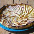 Tarte aux pommes et au miel