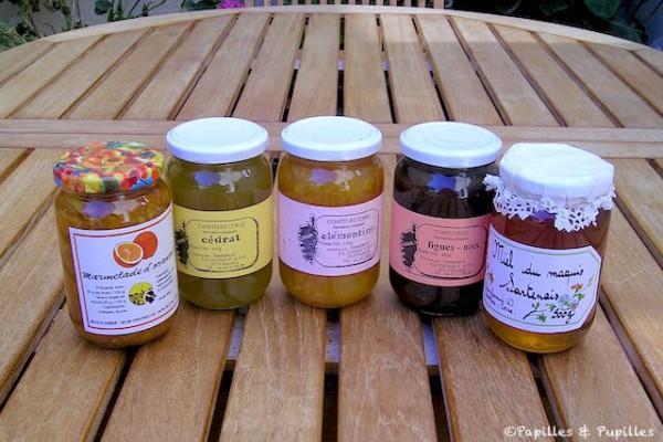 Miel et confitures corses