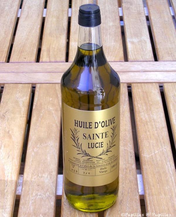 Huile d'olive Saint Lucie