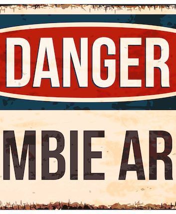 Zombie area © mything shutterstock