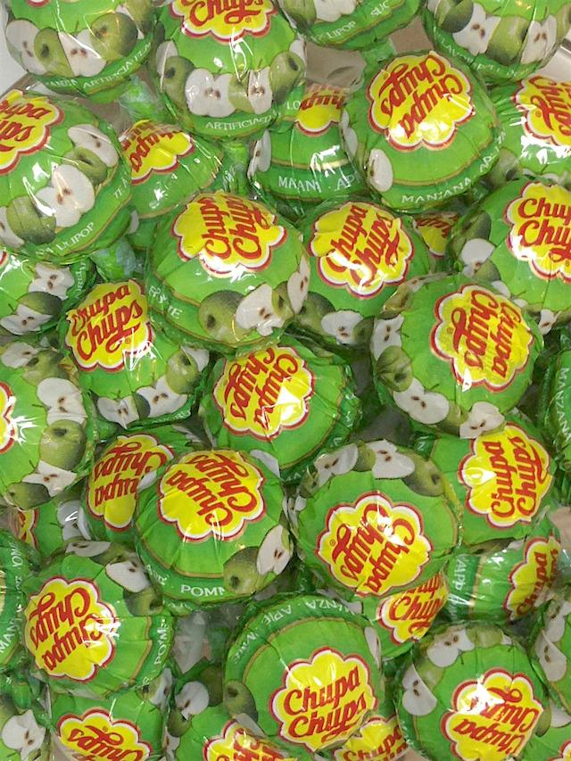Chupa Chups pomme verte