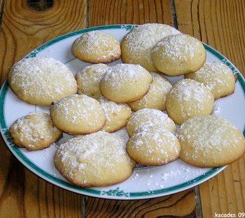 Biscuits au gingembre confit
